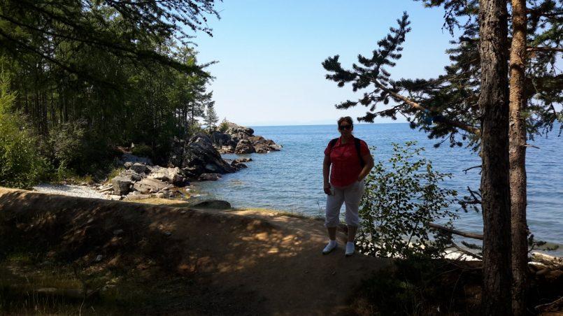 На берегу Байкала фото