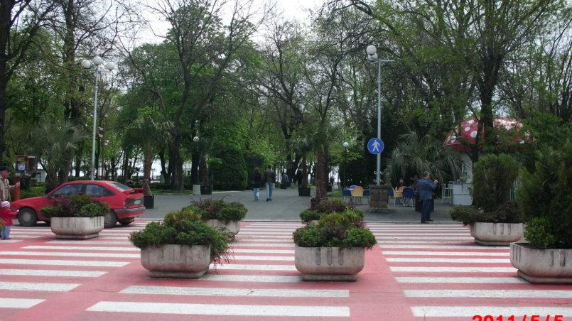 Красивый пешеходный переход