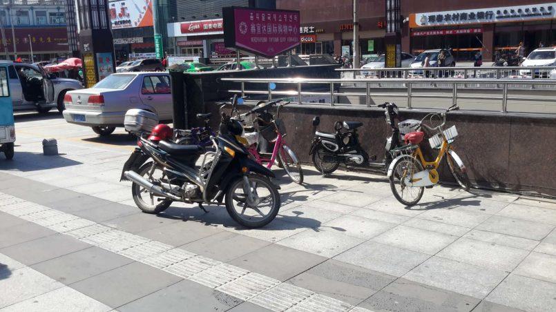 Местный двухколесный транспорт