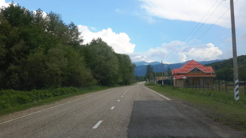 Дорога на Гуамку