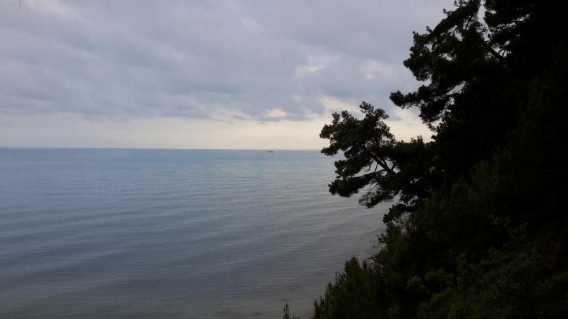 Море вечером