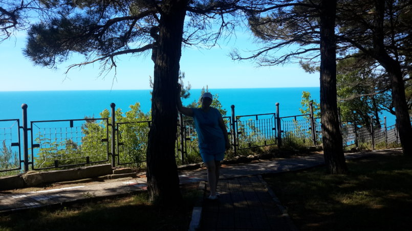 Фото на фоне бирюзового моря