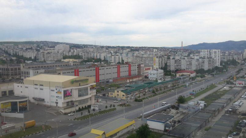 Вид на Новороссийск сверху