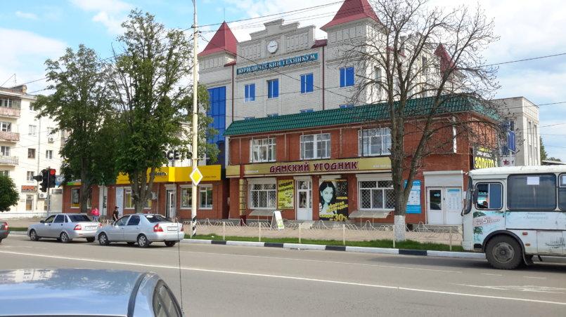Здание техникума
