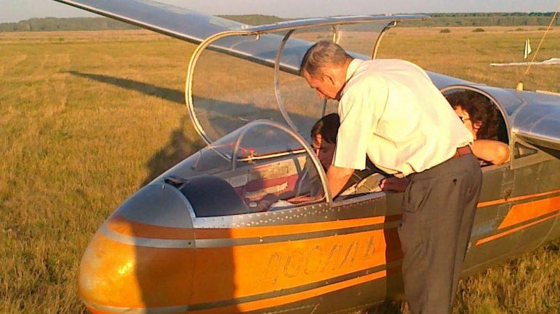 Указания молодому пилоту по управлению планером в полете