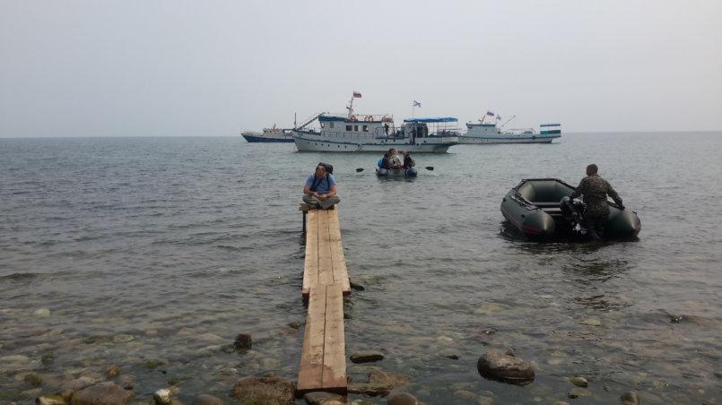 На веслах к причалу