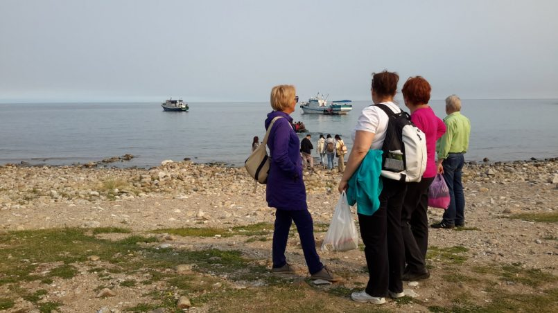 Прощание с островом Ольхон