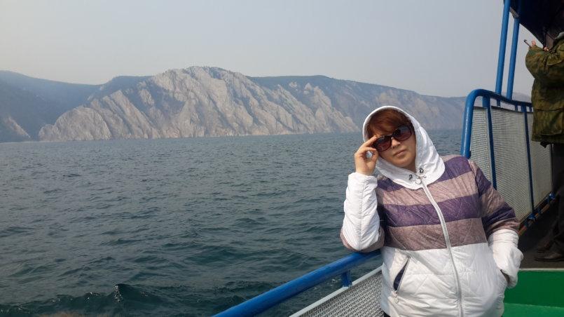 Фотографирование на фоне острова