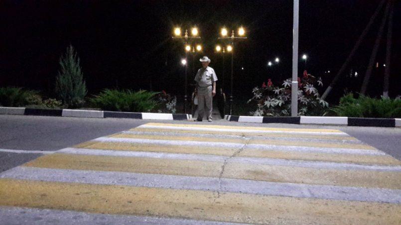 Мостик с фонарями