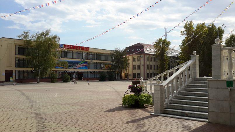 Площадь у Дома культуры