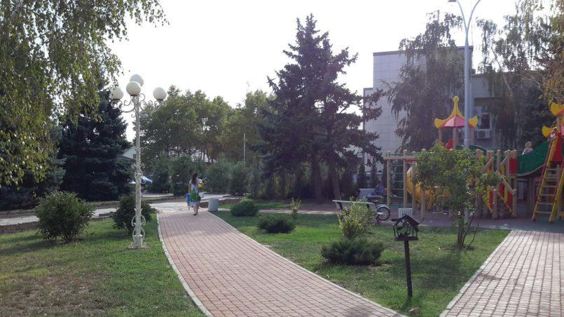 Красивый тротуар