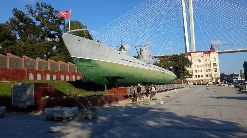 Подводная лодка-музей