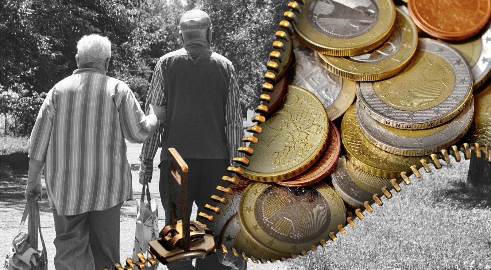 Семейная пара и деньги